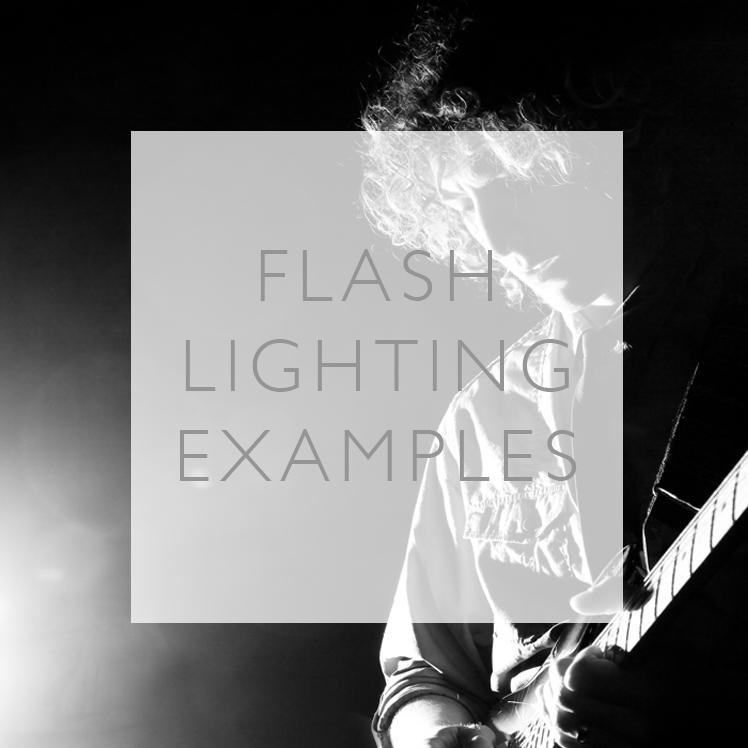 Flash Light Photo Shoot