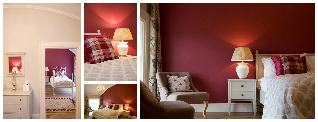 red Room at Rockbeare Manor