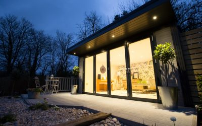 Halls Garden Living Studio at Night