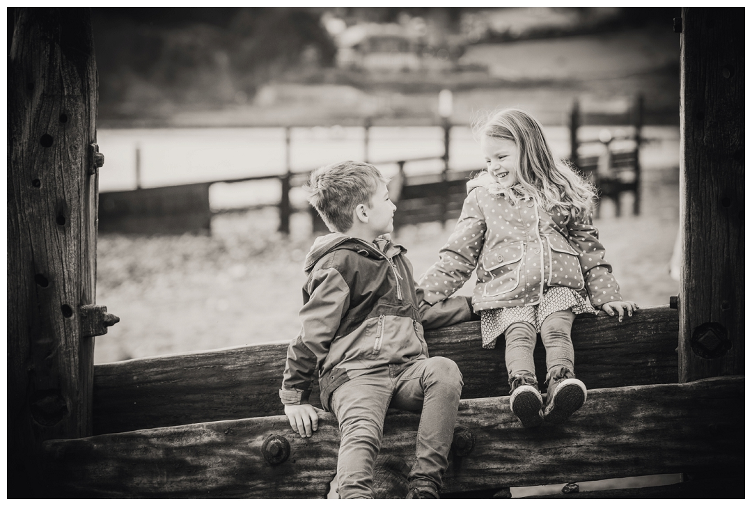 black and white child portraits devon