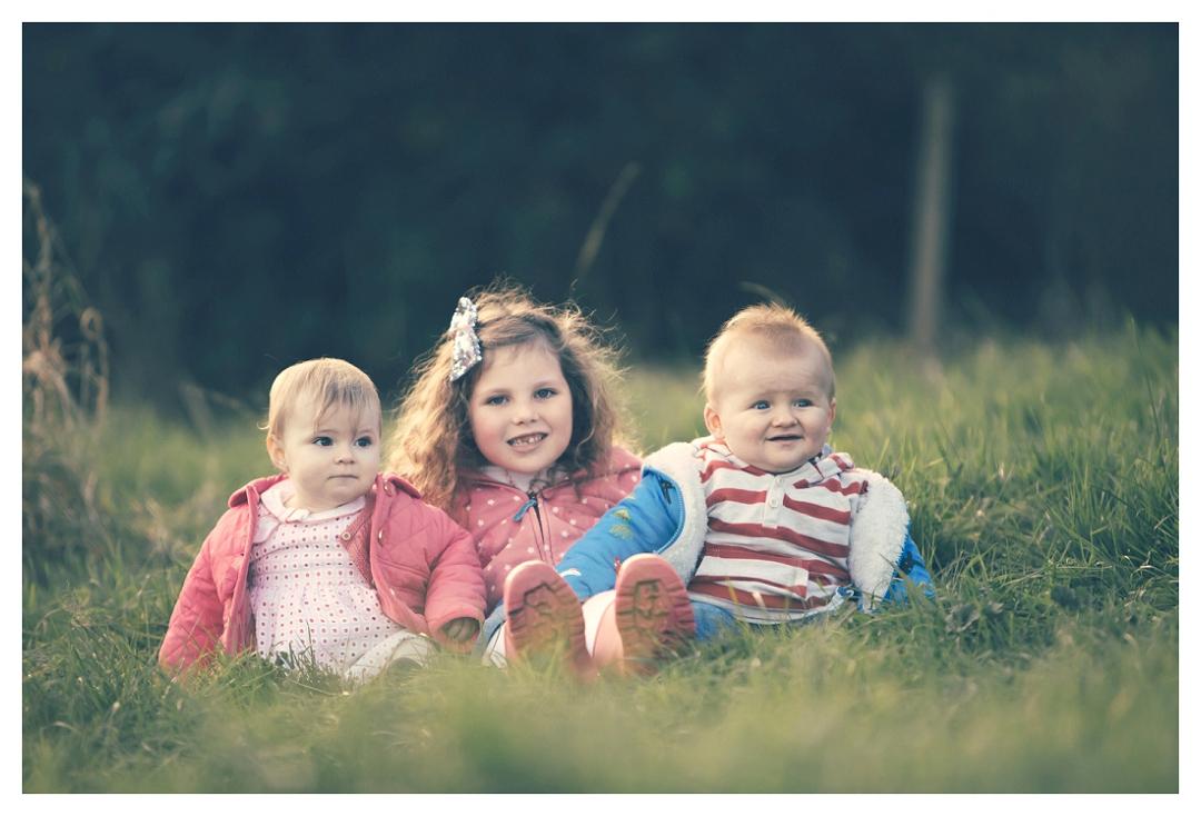 outdoors photographs of grandchildren
