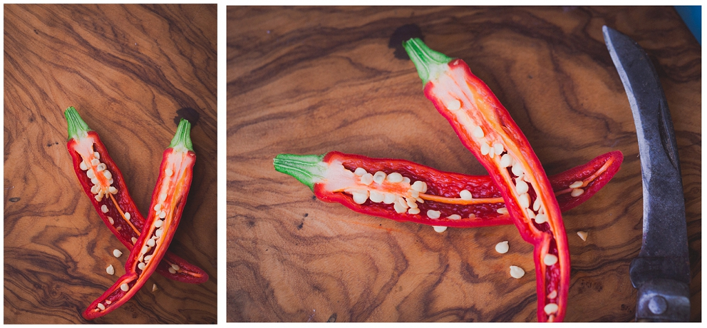 Inside a chilli, chilli seeds, Perspectives Photography, product photographs