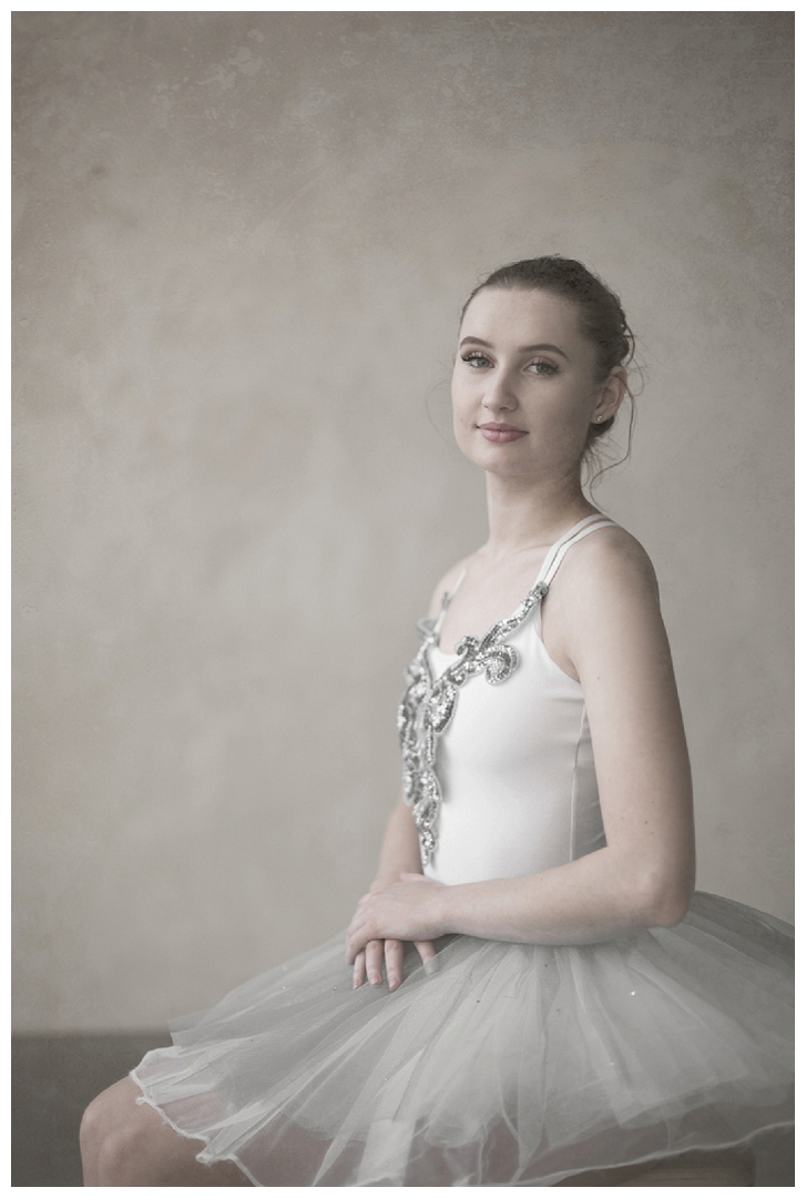 ballet dancer portrait